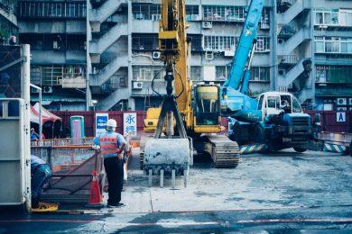 construction site, digitise mileage tracker, miles driven