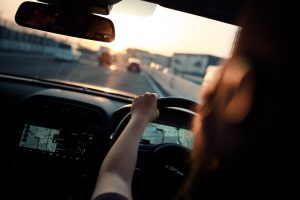 Woman driving, fair wear and tear usage and company vehicle policy