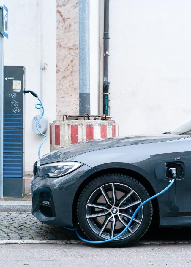 electric car green fleet for clean air zones