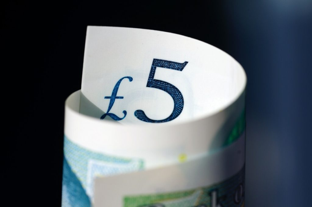 five pounds, the money that can be saved fuel with milege tracking