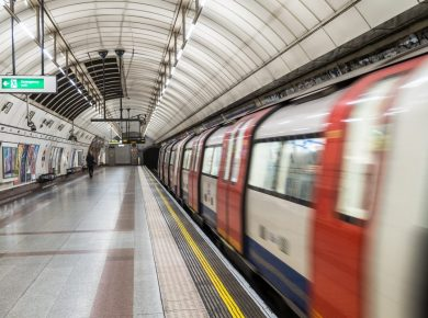 underground train travel manager for business travel