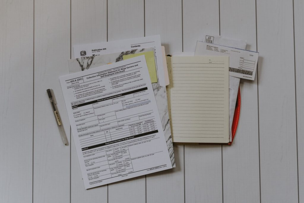 tax documents to get low company car tax with vehicle tracking
