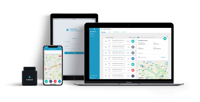 Vimcar vehicle tracking for low company car tax