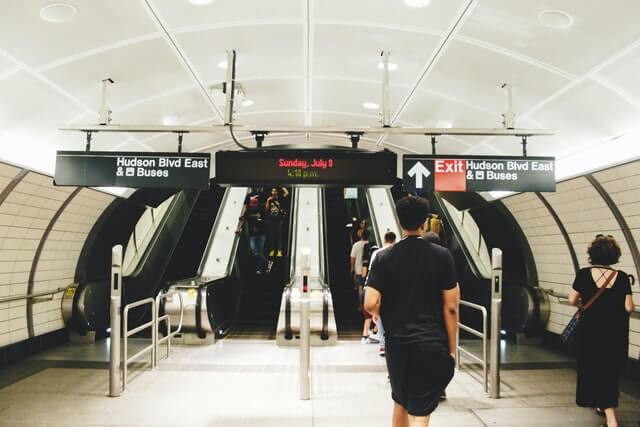transport manager station underground train
