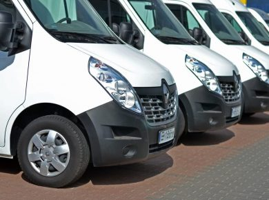 fleet of white vans multi van insurance
