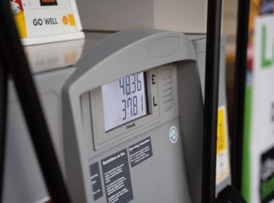 petrol station cost buying petrol with fuel card