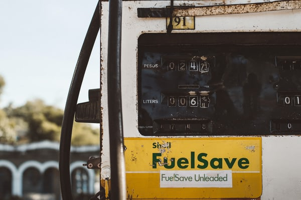 petrol station fuelsave with fleet fuel cards