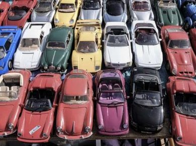 used car lot for vehicle remarketing