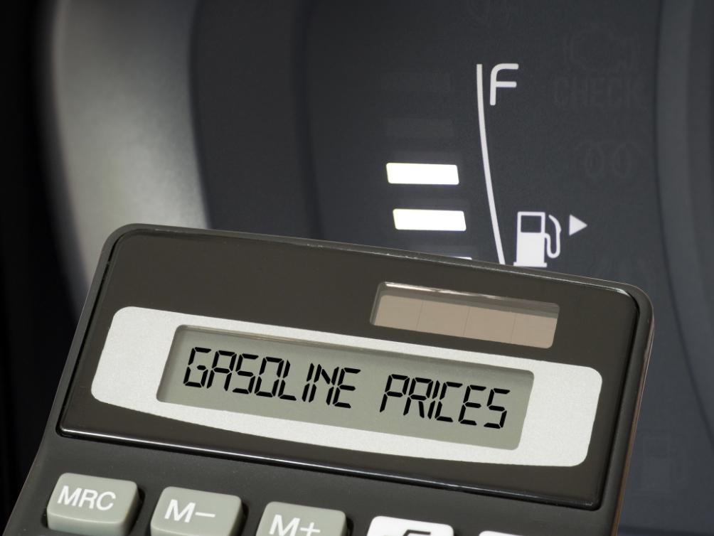 Gasoline pries for fleet vehicles