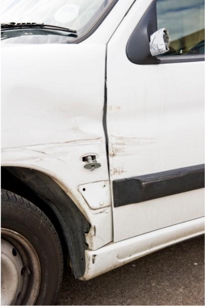 Business vans should stay damage-free.
