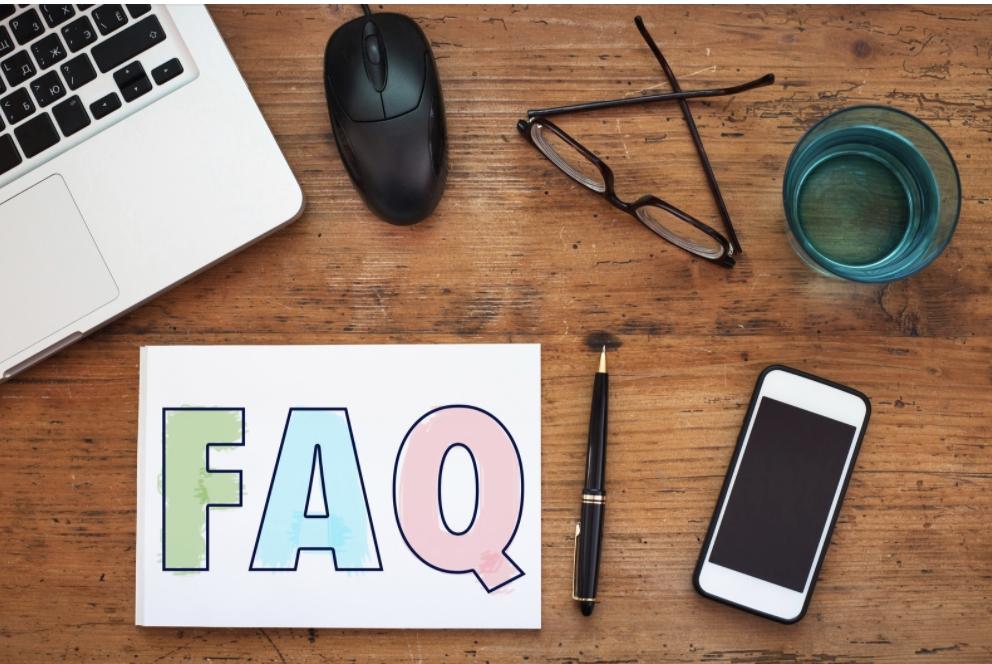 Image reprenting FAQs on van check sheets