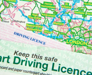 Carry out UK driving licence checks