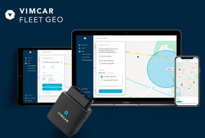 Vimcar's fleet tracking solution on mobile, tablet and desktop