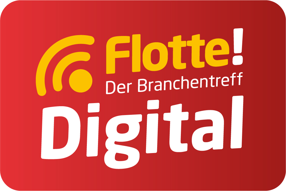 Logo der Messe flotte.digital