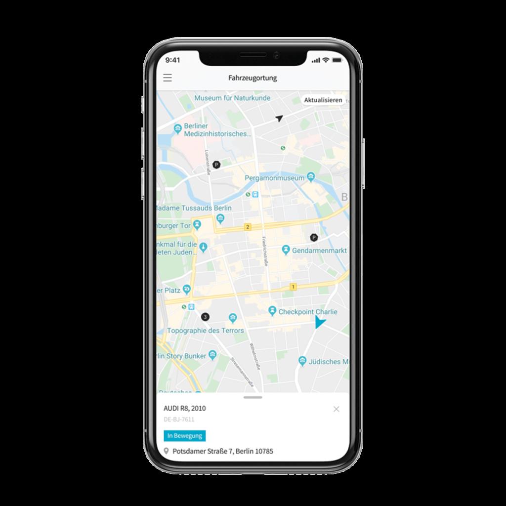 Smartphone App Fleet Geo