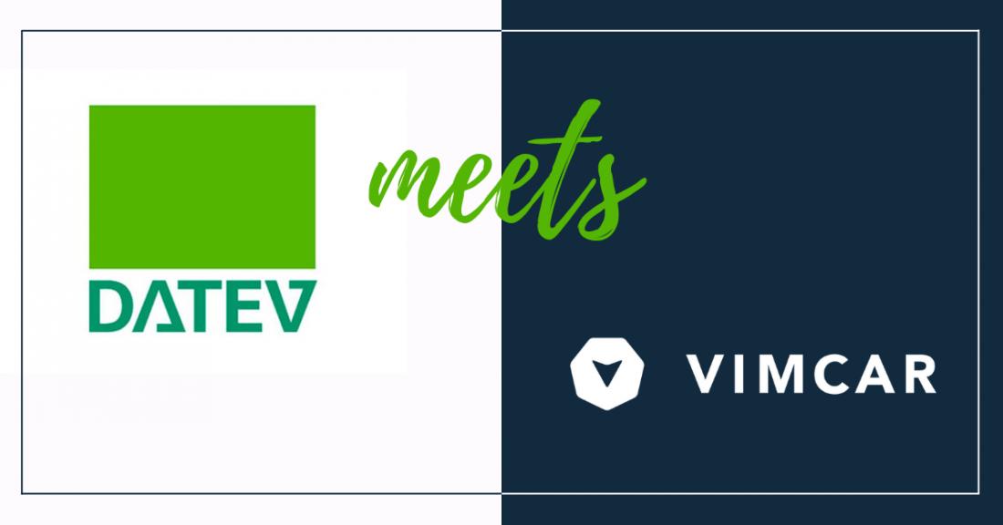 Kooperation Datev Vimcar Banner